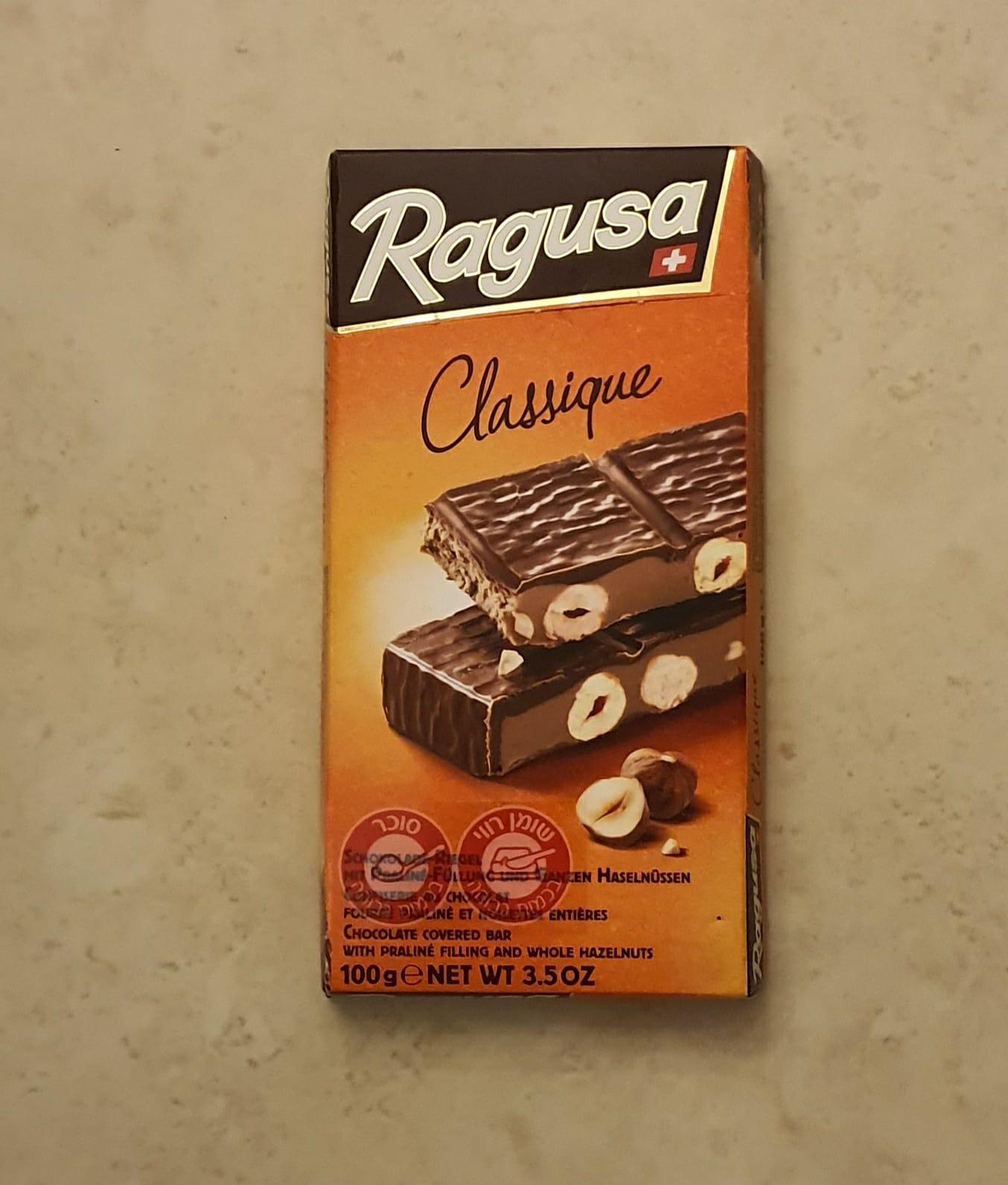 שוקולד ראגוסה חלב